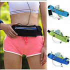 New Waterproof Sports Running Travel Elastic Zipper Waist Belt Bag Pouch Pocket