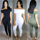 Sexy Womens long Sleeve Bodycon Jumpsuit Romper Trousers Clubwear playsuit