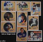 NOLAN RYAN 1990 Upper Deck Heroes Cards #10-18 Single Cards or 9-card Sets
