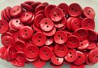 Very Large 28mm 44L Red Clown Coat Jacket 2 Hole Craft Quality Buttons (W155)