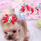 Bling Pet Dog Hair Bows Accessories Grooming Pearl Dog Cat Hairpin Clips for Dog