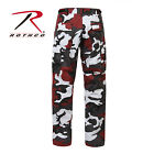 Red Camo Military BDU Pants - Rothco 7915