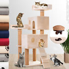 Cat Tree Scratching Post Activity Play Centre Climbing Toy Bed Kitten Furniture