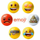 Official Emoji Golf Balls - Crazy Golf - Poop, Yellow Novelty School Sports Day