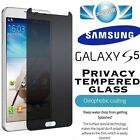 SAMSUNG GALAXY S5 PRIVACY TEMPERED GLASS SCREEN PROTECTOR ANTI SPY MATTE