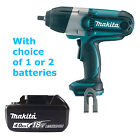 MAKITA 18V LXT BTW450Z IMPACT WRENCH & BL1840 BATTERY FUEL CELL INDICATOR