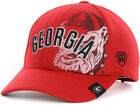 Georgia Bulldogs NCAA Top of the World UGA Dawgs RED Adjustable Cap Hat - OSFA