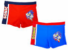 Boys Sega Sonic the Hedgehog Swim Boxer Trunk Shorts 3 to 8 Years NEW