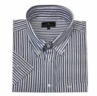 Cotton Valley Cotton Rich Navy/Blue Stripe Shirt (14290) in Size 2XL to 8XL