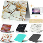 "3in1 Marble Hard Case Shell Cover +KB +SP For Macbook Pro Air 11"" 13"" 15"" Retina"