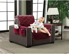 Slipcover Microfiber Reversible Pet Dog Couch Protector Cover Pockets Love Seat