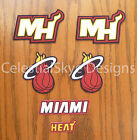 Iron On or Sew On Transfer Applique Miami Heat Cotton Fabric Patch Patches on eBay