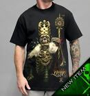 NIKKO KING Mens Black Tee Shirt Small up to 5XL