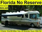 NO RESERVE 1999 FLEETWOOD BOUNDER 35FT CLASS A RV MOTORHOME CAMPER SLIDE OUT