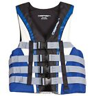 O'Brien Men's 4-Buckle Nylon Pro Vest, Blue