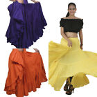 Choose 25 Yard 4 Tier Skirt Belly DANCE EHS Gypsy Skirt Tribal