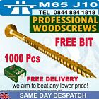 BULK 1000 self cutting sharp professional trade woodscrews spax / reisser style