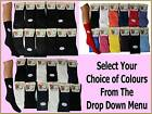 12 pairs LADIES NON ELASTIC LOOSE WAFFLE TOP COTTON RIBBED SOCKS DIABETIC UK 4-7