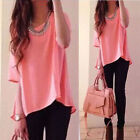 Fashion Women Summer Loose Top Short Sleeve Blouse Ladies Casual Tops T-Shirt GL