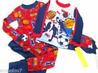 4 pc UP-LATE ALL SPORTS Pajama Set size 6 Football Basketball Soccer 100% cotton