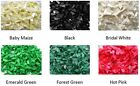 15 x 7mm Satin Ribbon Bows - Pick and Mix Colours (5 from each selection).