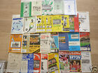 Non-League v League in FA Cup Programmes Clubs  N-Yeo UPDATED 10/16 Select yours