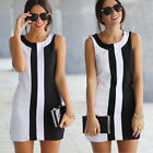 Women Sexy Summer Bandage Bodycon Floral Evening Party Cocktail Short Mini Dress