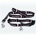 Atlanta Falcons NFL PET DOG COLLAR & LEASH & ID TAG Set (All Sizes) $23.99 USD on eBay