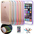 For 4.7 / 5.5 iPhone 6 6S Slim Transparent Crystal Clear Har