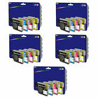 Choice of 20 Compatible Printer Ink Cartridges for Brother LC980 / LC1100 Range