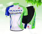 Men Cycling Jersey Set Sportwear Bike Bicycle Short Sleeve Jersey & Shorts Suits