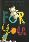 HAPPY BIRTHDAY CARDS FOR DAD BLACK COLOURFUL TEDDY HIGH QUALITY FREE POST