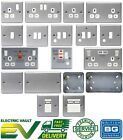 BG Metal Clad Switches & Sockets with back box for Garage, Workshop or Shed