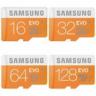 Samsung 8GB 16GB 32GB 64GB 128GB Evo Micro SD Card Mobile Phone TF Memory Card