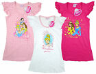 Girls Disney Princesses Cinderella Snow White Cotton Nightdress Nightie sizes 2