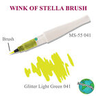 Kuretake Zig Wink Of Stella Glitter Brush select from 16 Colors including Clear