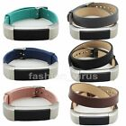 Single/Double Circle Wrist Strap Leather Watch Band For Fitbit Alta Tracker