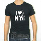 T-SHIRT SLIM FIT MAGLIA I LOVE NEW YORK CITY BIG APPLE GOTHAM TRAVEL JOURNEY TS