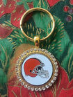RHINESTONE KEYRING/  PENDANT W/ NFL CLEVELAND BROWNS SETTING JEWELRY on eBay