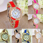1PCs New Fashion Golden Diamante Quartz DIY Bracelet Watch For Women