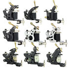 NEW Pro Tattoo Machine Gun Dual 10-Wrap Coil Supply Set for Liner Shader