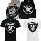 NFL Oakland Raiders Graphic Tee Fan T-Shirt Hoodie Fanshirt Majestic Football
