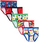 Angry Birds Boys 5 Pack Assorted Color Underwear Briefs Size 4 6 8
