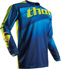 Thor 2017 S7 Pulse Velow Jersey Navy/Lime Mens All Sizes