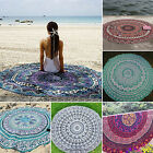 Indian Mandala Tapestry Hippie Beach Cover Up Towel Circle Yoga Throw Mat Round