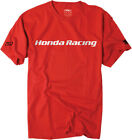 Factory Effex Licensed Honda Racing T-Shirt Red Mens All Sizes image