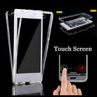 US Silicone 360° Full Protective TPU Gel Clear Case Cover Skin For Sony Xperia