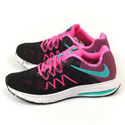 Nike Wmns Zoom Winflo 3 Black/Clear Jade-Pink Blast-White Running 831562-004