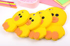 3D Cartoon Animal Cute Yellow Duck Soft Phone Shell for Samsung/iPhone Phone