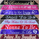 Personalised Sashes, Any Occasion, Any wording You Like, Birthday, Hens Night